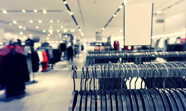 Pulizia negozi e centri commerciali